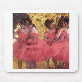 Dancers in Pink Mouse Pad