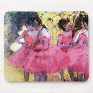 Dancers in Pink Mousepads