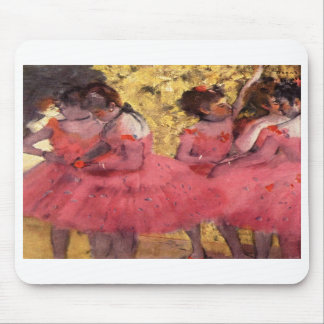Dancers in Pink Mouse Pads