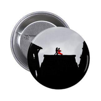Dancers in the mist pinback button