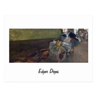 Dancers in the Rehearsal Room - Edgar Degasa Postcard