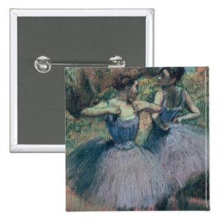 Dancers in Violet Pinback Button