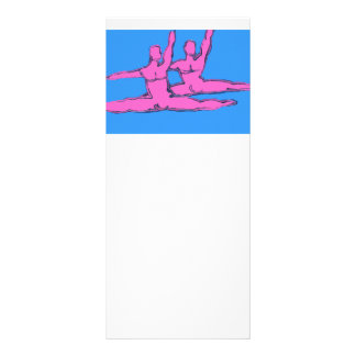 Dancers Jete Duo Custom Rack Cards