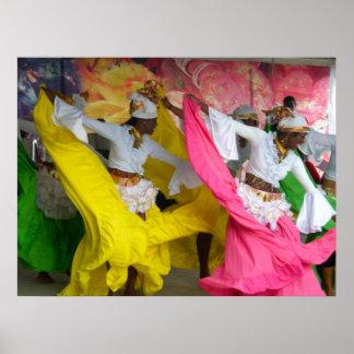 Dancers of Trinidad Poster