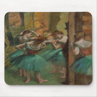 Dancers, Pink and Green - Edgar Degas Mouse Pads