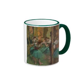 Dancers, Pink and Green - Edgar Degas Coffee Mug
