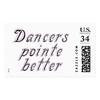 Dancers pointe better postage