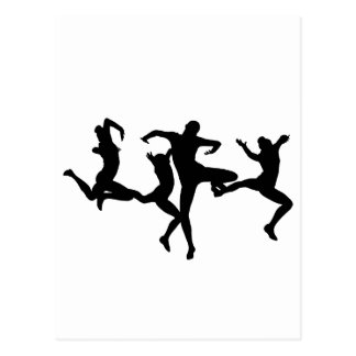 DANCERS POSTCARD