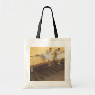 Dancers Practicing at the Barre by Edgar Degas Budget Tote Bag