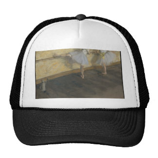 Dancers Practicing at the Barre - Edgar Degas Trucker Hat