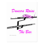 Dancers Raise The Bar (For Light Colored Products) Post Card