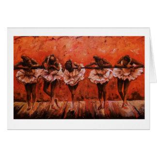 Dancers Secret Greeting Card
