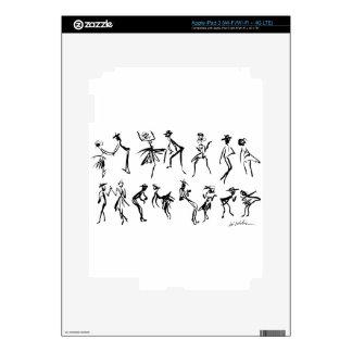 Dancers Decals For iPad 3