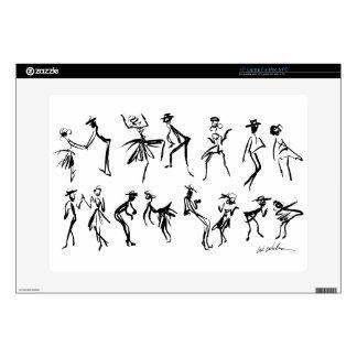 Dancers Laptop Decals