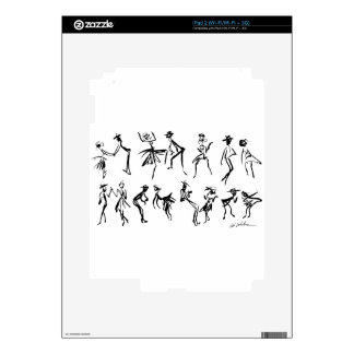 Dancers Skins For The iPad 2