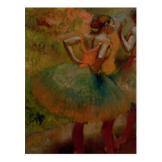 Dancers Wearing Green Skirts c 1895 Post Cards