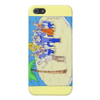 Dances W/Palm Trees Funny Gifts Mugs Etc iPhone SE/5/5s Case