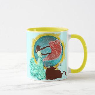 Dances With Bulls Coffee Mug