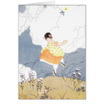 Dances with Butterflies Greeting Card