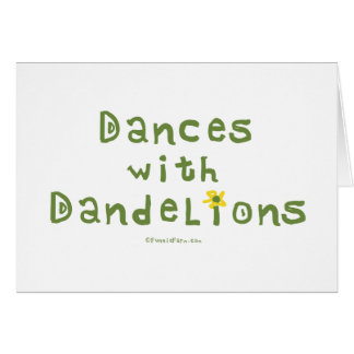 Dances with Dandelions Stationery Note Card