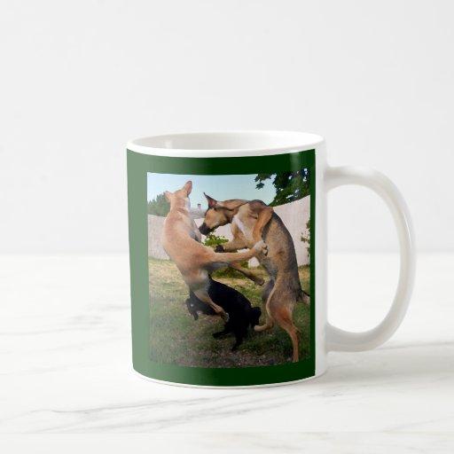 Dances with Dogs Classic White Coffee Mug