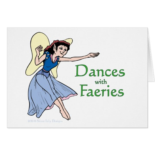 Dances with Faeries Card