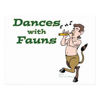 Dances with Fauns Postcards