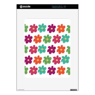 Dances With Flowers Skin For iPad