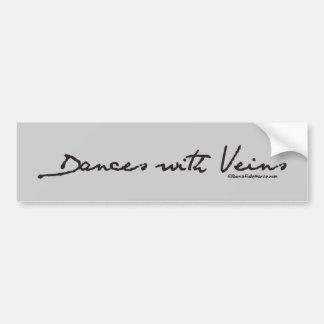 Dances with Veins Car Bumper Sticker