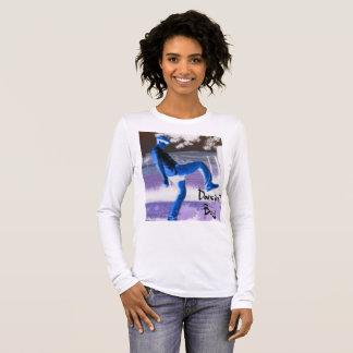 Dancin Boy Women's Long-Sleeve Shirt. Long Sleeve T-Shirt