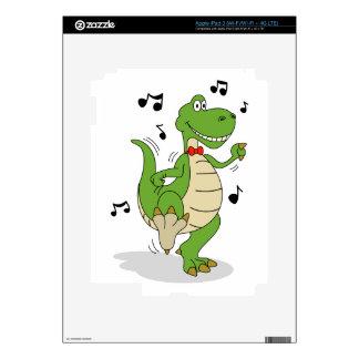 Dancin' Dino Skin For iPad 3