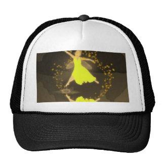 Dancin en el gorra oscuro de la malla