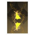 Dancin en la oscuridad inmóvil papeleria personalizada