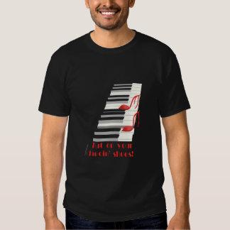 DANCIN' SHOES Black T-Shirt