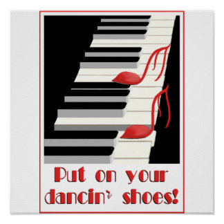 DANCIN SHOES Poster