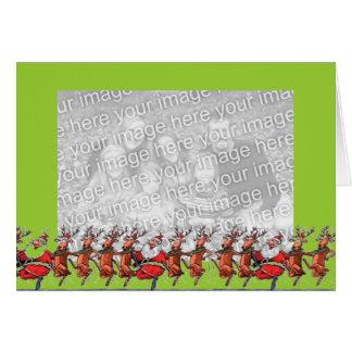Dancin' with Santa Card