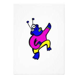 Dancing Alien Custom Announcement