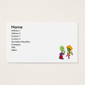 Dancing Aliens Business Card