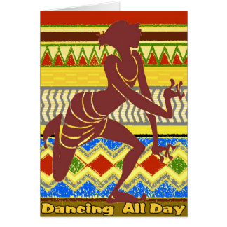 Dancing All Day Cards