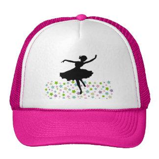 Dancing amongst the stars - pink sunset mesh hat