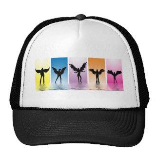 dancing angels mesh hat