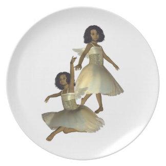 Dancing Angels Plate