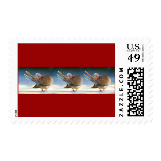 Dancing Angels Postage Stamps