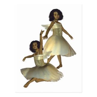 Dancing Angels  Postcard