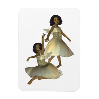 Dancing Angels Premium Magnet