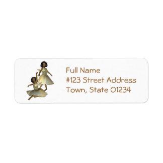 Dancing Angels Return Address Mailing Labels