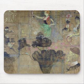 Dancing at the Rouge: La Goulue, 1895 Mouse Pads