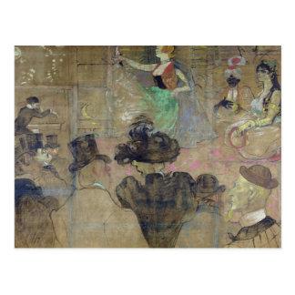 Dancing at the Rouge: La Goulue, 1895 Postcard