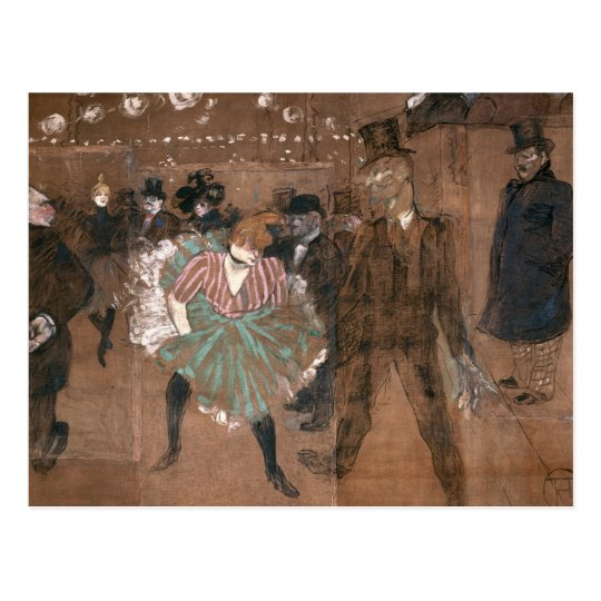 Dancing at the Rouge Postcard