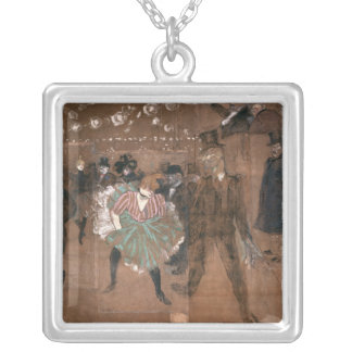 Dancing at the Rouge Silver Plated Necklace